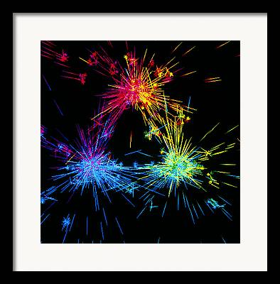Proton Structure Framed Prints