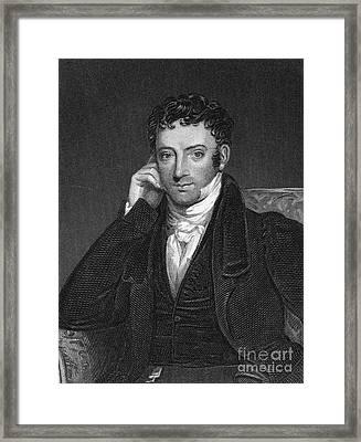 Washington Irving Framed Print by Granger