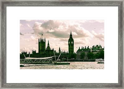 Westminster Framed Print by Dawn OConnor