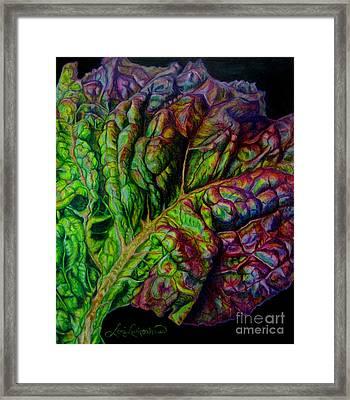 Wilting Beauty Framed Print by Lori Lutkenhaus