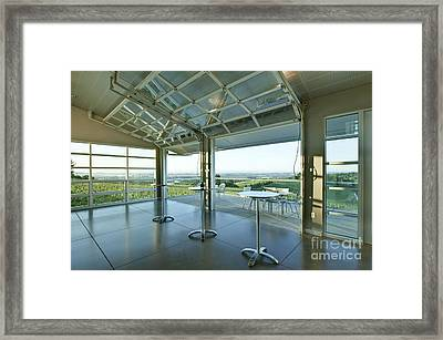 Winderlea Wine Tasting Room Framed Print by Rob Tilley