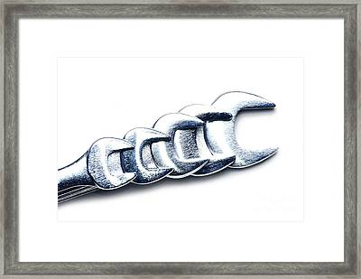 Wrenches Framed Print by HD Connelly