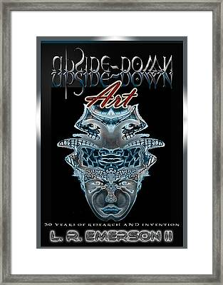 30 Years Of Invention Collector's Poster By Upside Down Artist By L R Emerson II Framed Print