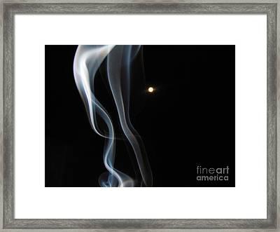 31 August Moon 3 Framed Print