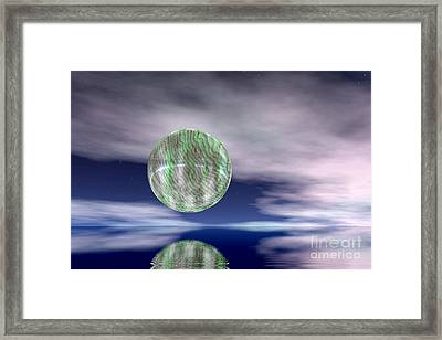 Planet Framed Print by Odon Czintos
