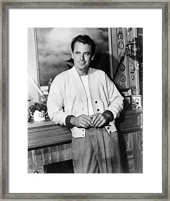 310 To Yuma, Glenn Ford, 1957 Framed Print