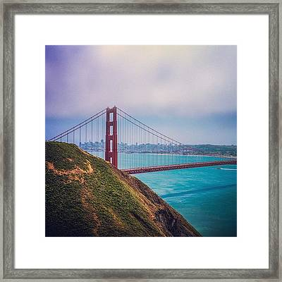 Instagram Photo Framed Print by Kevin Henney