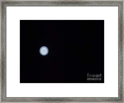 31st August Moon 2 Framed Print