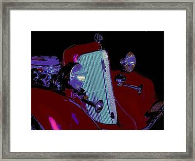 34 Plymouth Pe Framed Print by Chuck Re