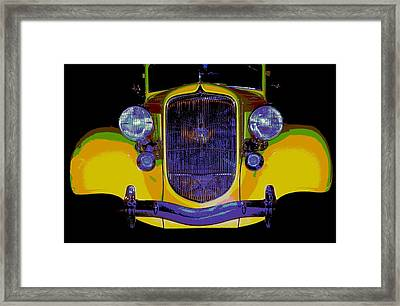 34 Plymouth Pexx Framed Print by Chuck Re