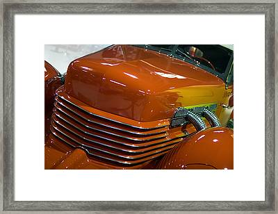 Framed Print featuring the photograph '36 Cord by Chuck De La Rosa