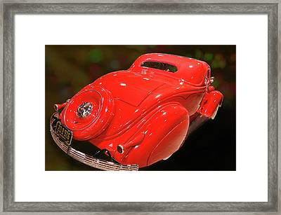 Framed Print featuring the photograph 36 Custom Coupe by Bill Dutting