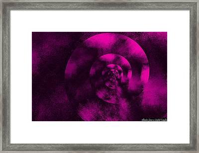Figurative Shells Framed Print by Mihaela Stancu
