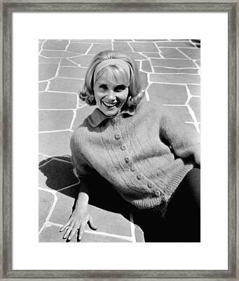 36 Hours, Eva Marie Saint, 1964 Framed Print