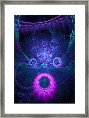 360 Framed Print by Lar Matre