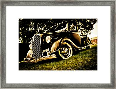 37 Ford Pickup Framed Print by Phil 'motography' Clark