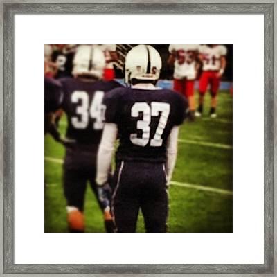 #37 Is My #nephew #iam A #veryproud Framed Print