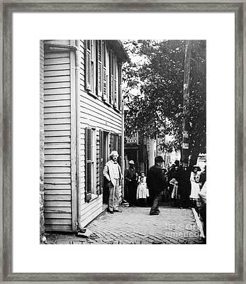 Samuel Langhorne Clemens Framed Print