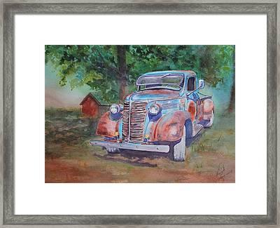 '38 Chevy Framed Print
