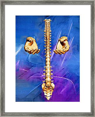 Healing Hands Framed Print