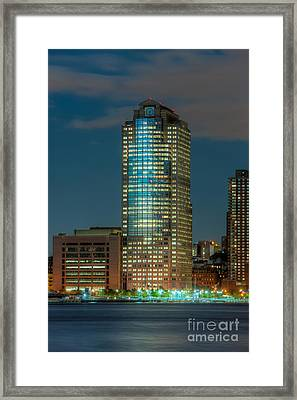 388 Greenwich Street At Twilight I Framed Print by Clarence Holmes