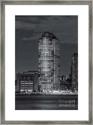 388 Greenwich Street At Twilight II Framed Print by Clarence Holmes