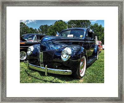 '39 Dodge Sedan 001 Framed Print by Lance Vaughn