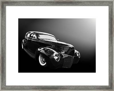 39 Ford Sedan Framed Print