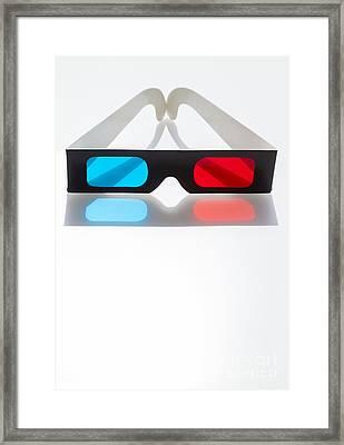 3D Framed Print by Juan  Silva