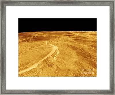 3d Perspective View Of Latona Vorona Framed Print