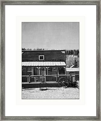 3th Avenue Framed Print