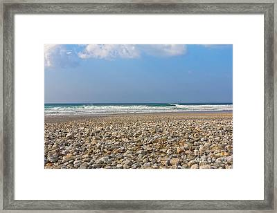 Porthtowan Cornwall Framed Print by Brian Roscorla