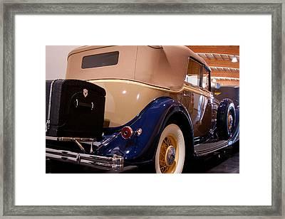 1934 Lincoln Kb V-12 Dietrich Framed Print