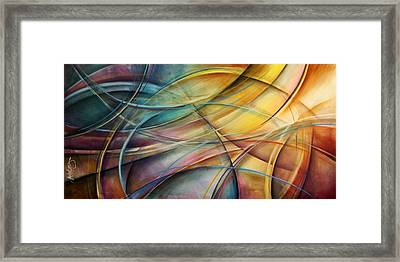 Abstract  Framed Print by Michael Lang
