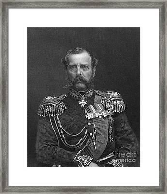 Alexander II (1818-1881) Framed Print
