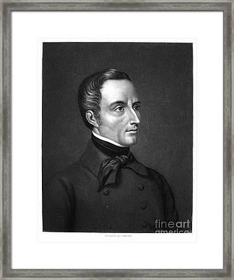Alphonse De Lamartine Framed Print