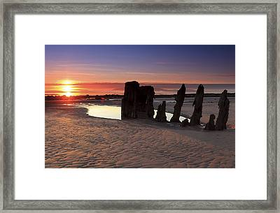 Ardrossan Sunset Framed Print