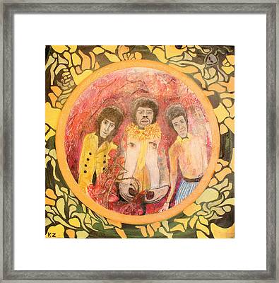 Are You Experienced. Framed Print by Ken Zabel