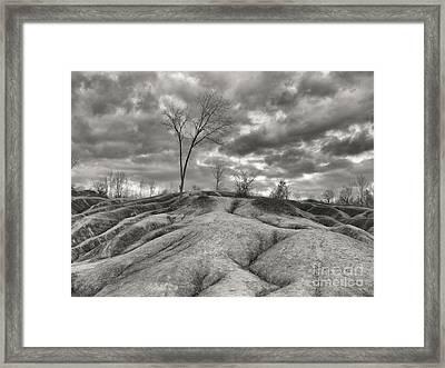 Badlands Framed Print by Oleksiy Maksymenko
