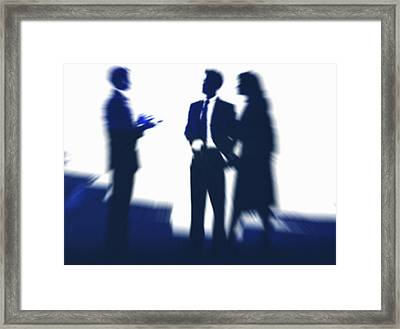 Business People Framed Print by Pasieka