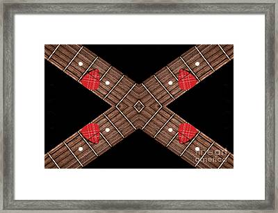 4 By 4 Horizontal Framed Print by Andee Design
