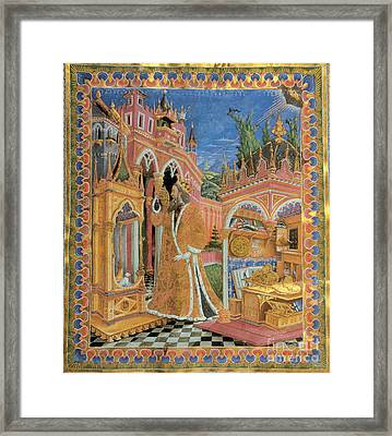 Claudius Ptolemy Framed Print