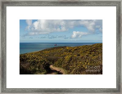 Cornish Seascape St Agnes  Framed Print by Brian Roscorla