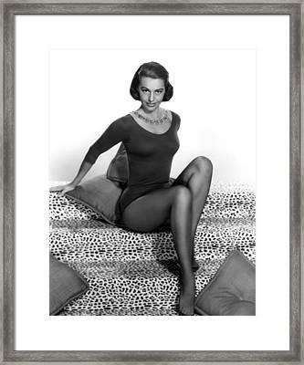 Cyd Charisse, Portrait Framed Print by Everett