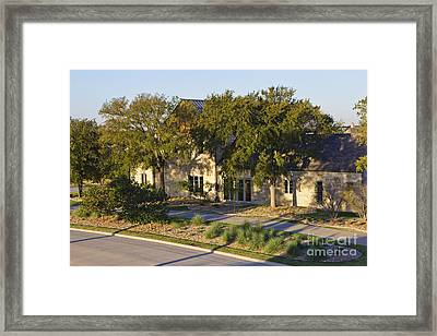 Energy Efficient Home Exterior Framed Print by Jeremy Woodhouse