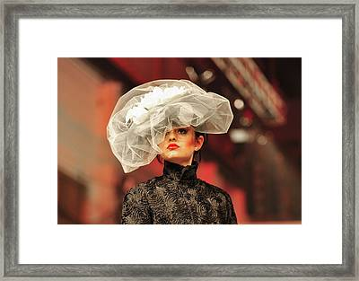 Fat Fashion Art Toronto Framed Print by Andrea Kollo