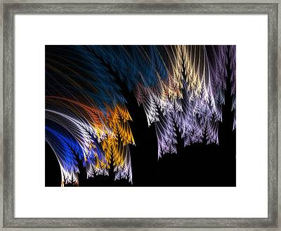 Ferns Framed Print by Michele Caporaso