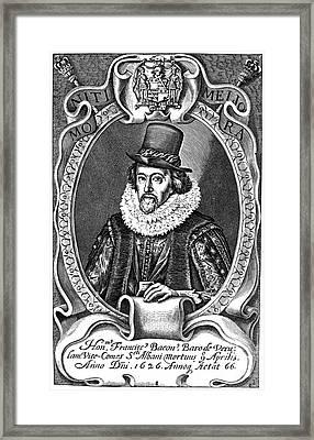 Francis Bacon (1561-1626) Framed Print by Granger