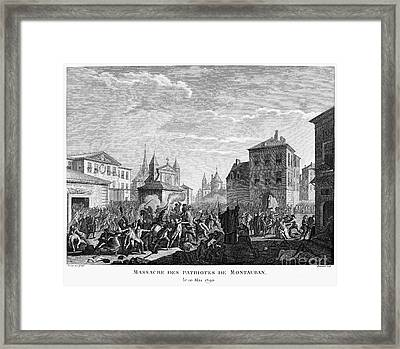 French Revolution, 1790 Framed Print by Granger