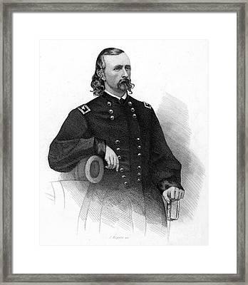 George Custer (1839-1876) Framed Print by Granger